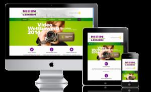 Responsives Webdesign für alle Bildschirmgrößen, Werbeagentur infarbe-Design