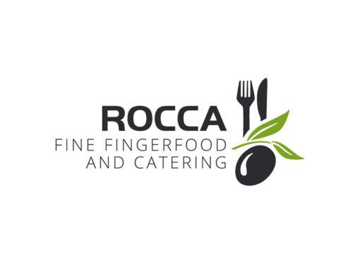 Illustratives Logo für Catering Service