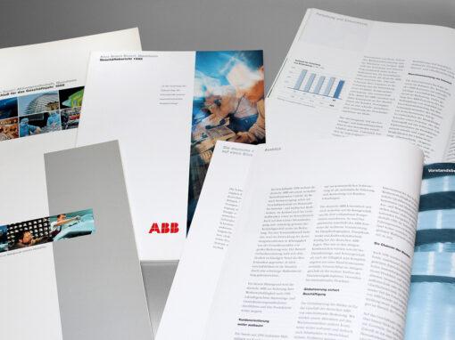ABB Geschäftsberichte