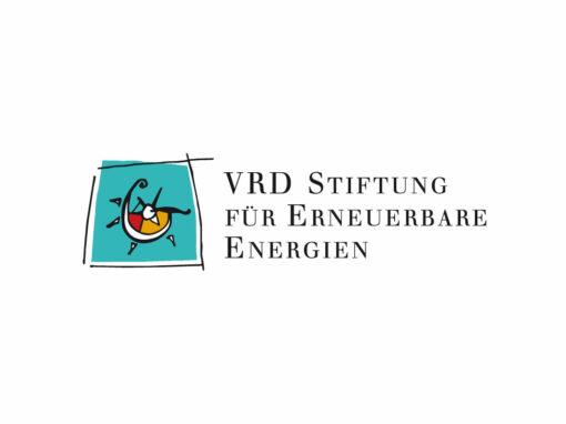 Logo der VRD Stiftung, Redesign