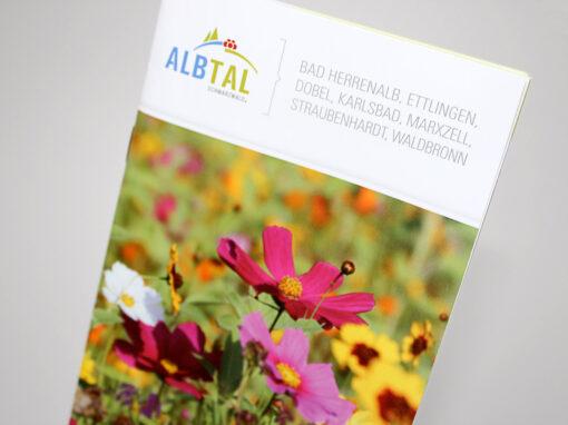 "Broschüre ""Blühendes Albtal"""