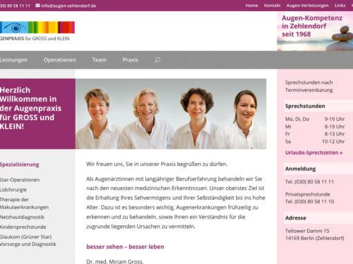 Augenpraxis für GROSS und KLEIN, Berlin