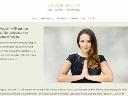 Yoga mit Natalie Feigina